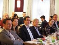 Günther Sidl freut sich über 100% Zustimmung als Vorsitzender des BSA Niederösterreich!